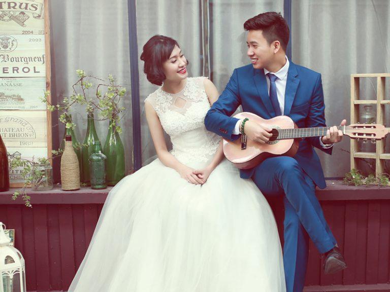 Chụp ảnh cưới tại Ảnh viện áo cưới PIANO