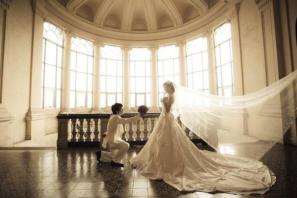 Làm thế nào để chụp ảnh cưới đẹp