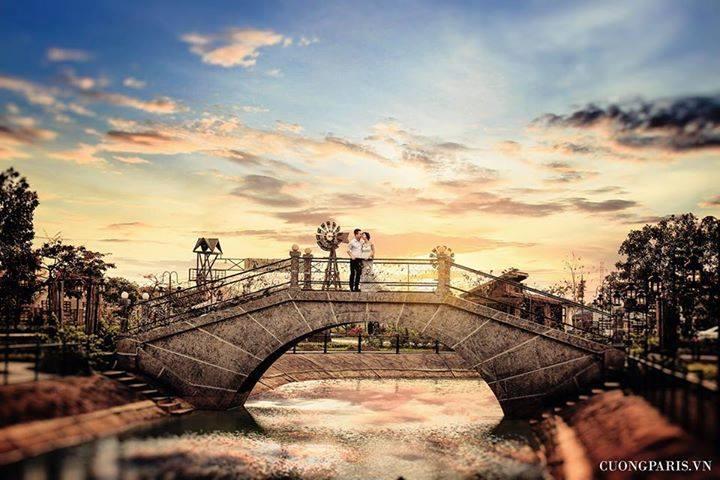 Phim trường Smiley Ville - không gian đẹp cho các cặp đôi