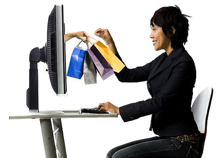 mua hàng qua mạng