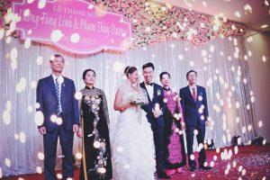 chụp ảnh cưới gia đình