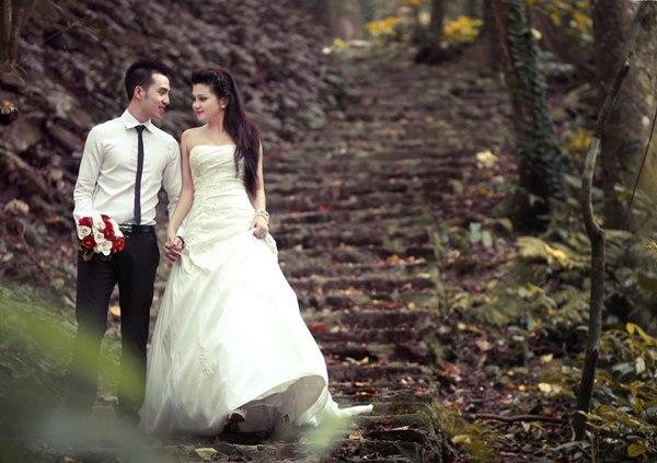 ảnh cưới đẹp cùng ảnh viện Piano
