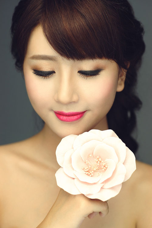 Make Up Phong Cach Han Quoc Cho Co Dau Viet 1