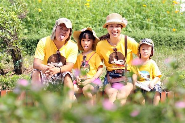 Chụp ảnh gia đình dễ thương