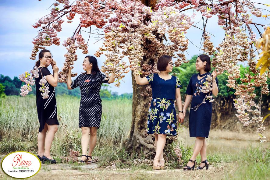 Chụp ảnh gia đình giá rẻ tại Piano ngày Tết Nguyên Đán