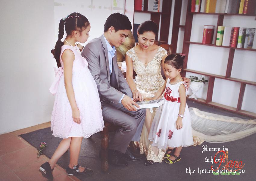 Chụp ảnh gia đình giá rẻ tại Piano