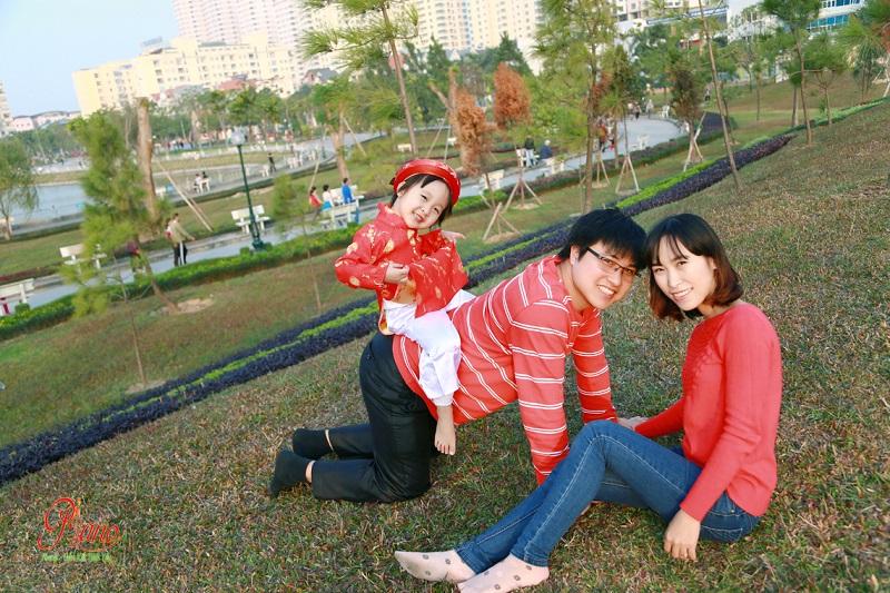 Ảnh Viện Piano chụp ảnh gia đình ngoài trời uy tín chất lượng