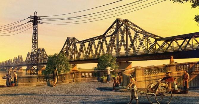 Cầu Long Biên địa điểm cho mùa chụp ảnh kỷ yếu