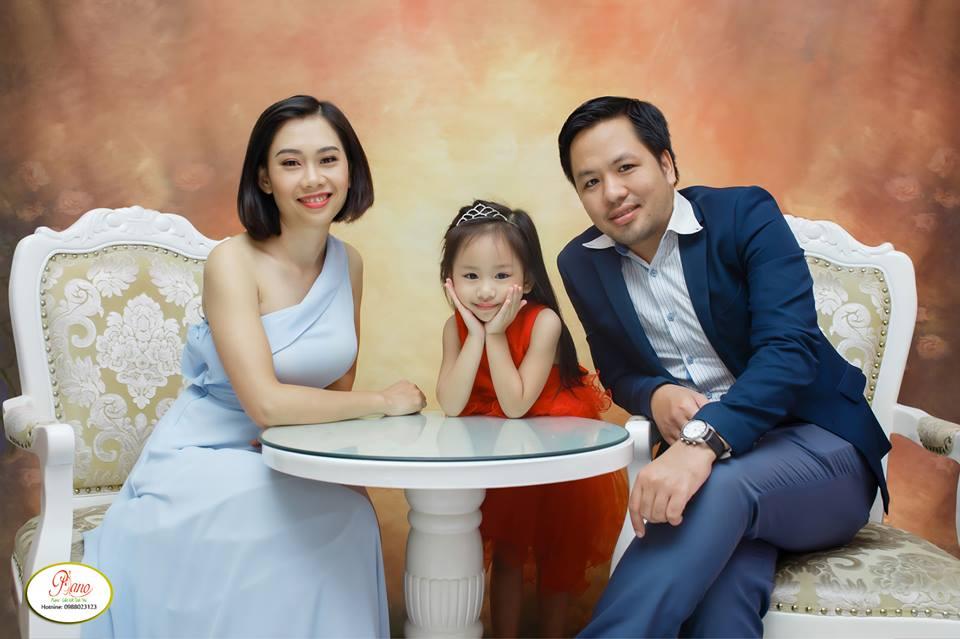 Chụp ảnh gia đình phong cách Hàn Quốc nhẹ nhàng