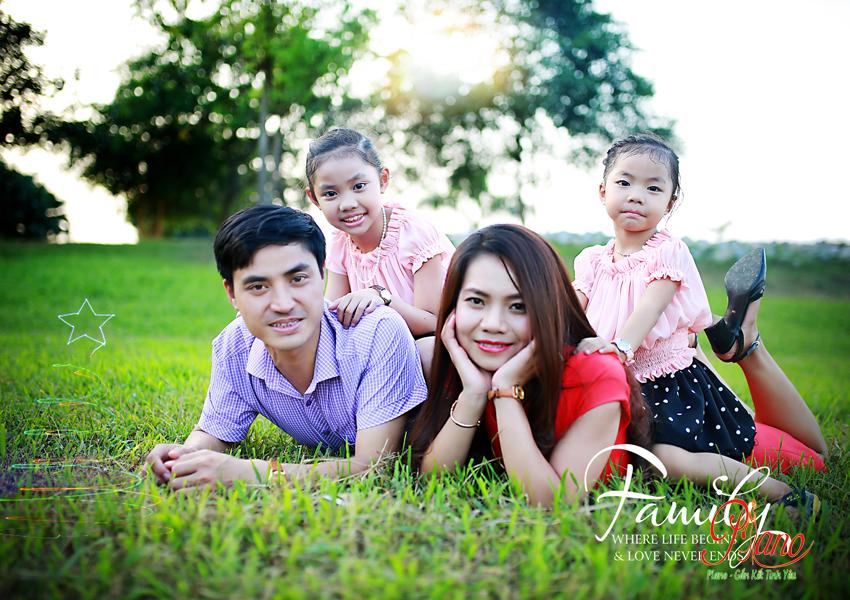 Chụp ảnh Gia đình Ngoài Trời – Xu Hướng Chụp ảnh Ngày Nay