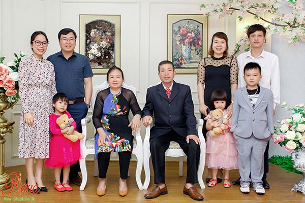 Những bức ảnh chụp gia đình thật hanh phúc