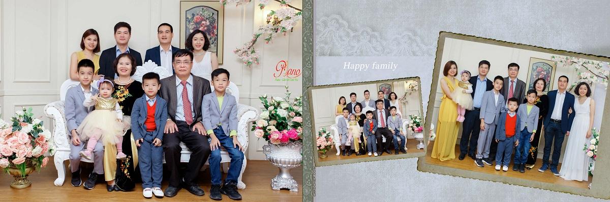Chụp ảnh Gia đình Tại Hà Nội