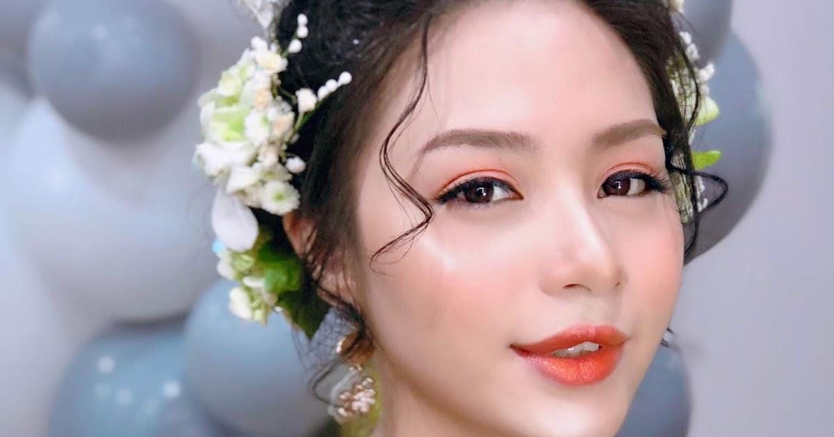 trang điểm cô dâu Hàn Quốc trẻ trung