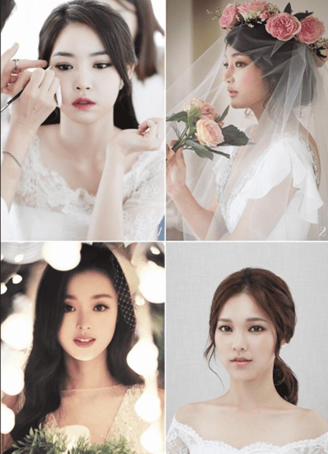 trang điểm cô dâu theo phong cách cổ điển