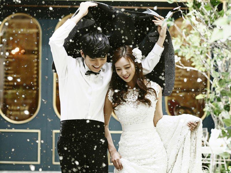 Điểm qua những ý tưởng chụp ảnh cưới trong mùa đông