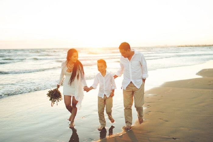 Thời điểm chụp ảnh gia đình