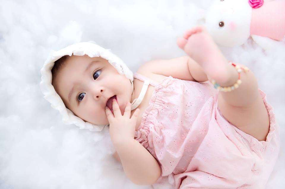 Chuẩn bị gì khi chụp ảnh cho bé 5 tháng tuổi