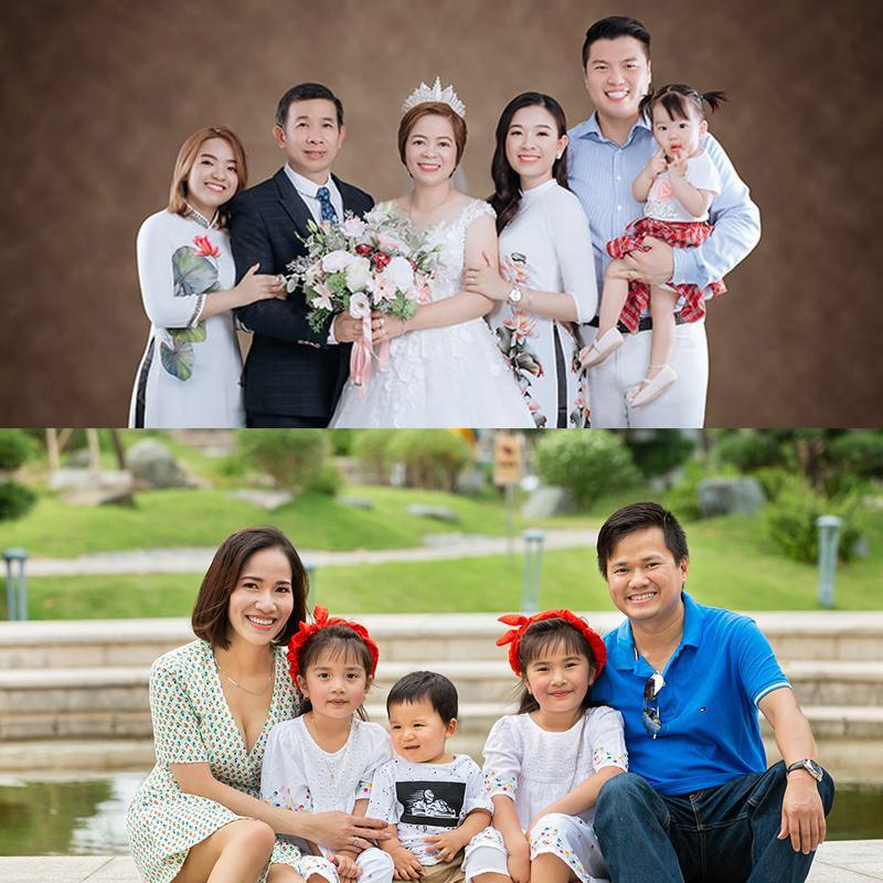 dịch vụ chụp ảnh gia đình 5 người