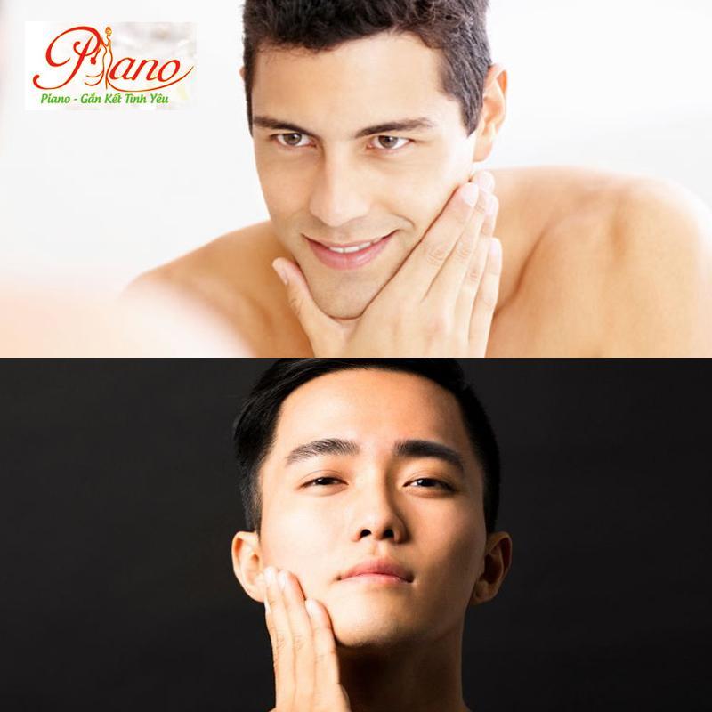 dùng kem dưỡng ẩm có màu cho da của nam giới